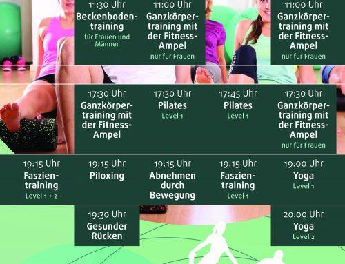 Neue Präventionskurse! Jetzt auch Pilates zum Abrechnen!